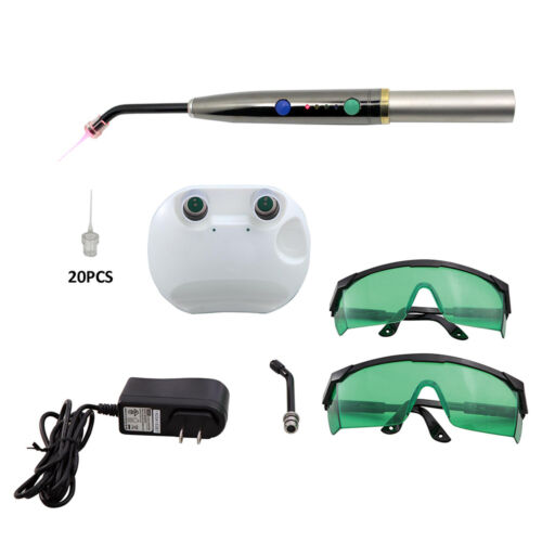 Dental Diode Laser Pen Low Level Disinfection Light Lamp 650nm 200mw