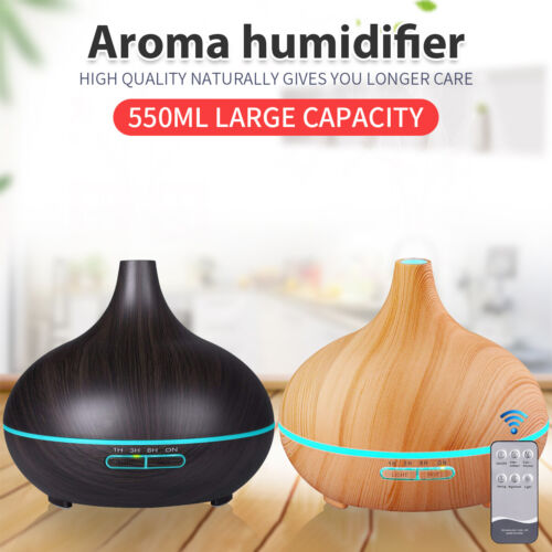 LED Ultrasonic Essential Oil Aroma Diffuser Air Purifier