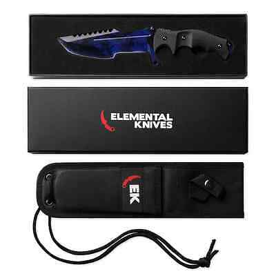 Elemental Knives Black Pearl Real Huntsman Csgo Knife Skin Counter Strike Cs