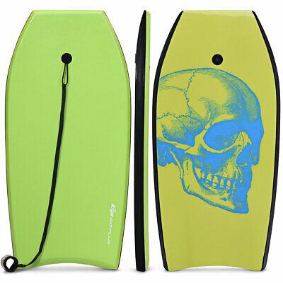 "37"" Super Lightweight Bodyboard Surfing W/Leash EPS Core Boa"