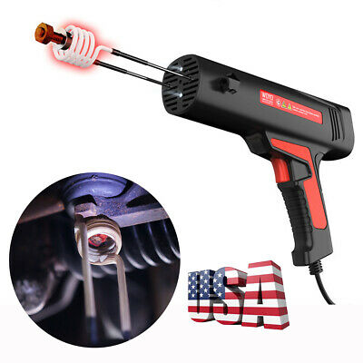 US Shipping Car Flameless Repair Magnetic Heating Induction Bolt Remover 220V