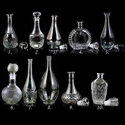 Glasflasche Weinkaraffe Dekantierer Liköre , Cognac , Whisky Cognac Glas