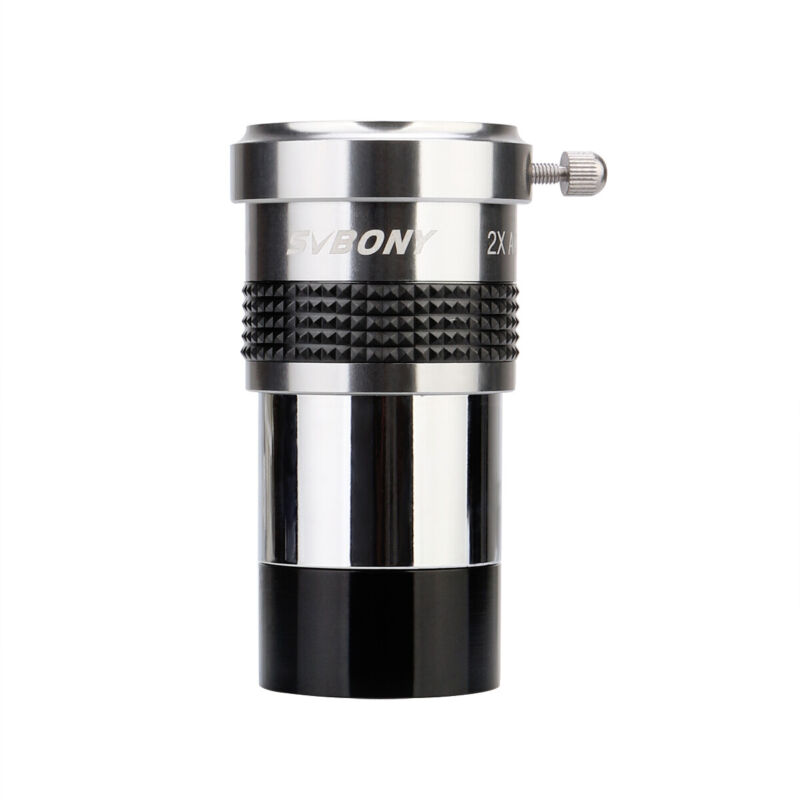 "SV137 1.25""  Barlow Lens(2x) internal Brass Eyepiece Metal Fully Multi-coated"