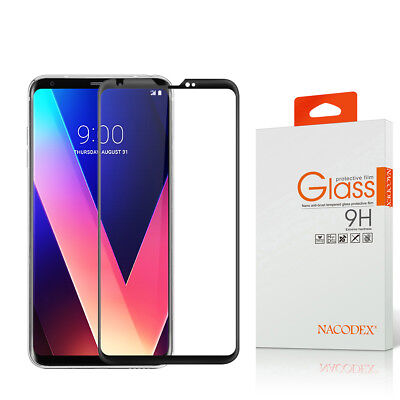 NX For LG V30S ThinQ / LG V30 3D Full Cover Tempered Glass Screen Protector