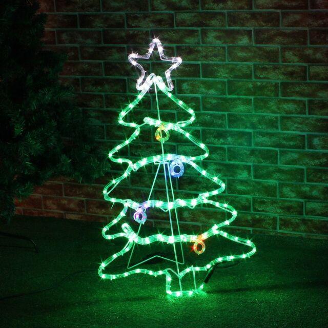 88cm large led twinkling christmas xmas tree outdoor rope light 88cm large led twinkling christmas xmas tree outdoor rope light silhouette motif aloadofball Choice Image