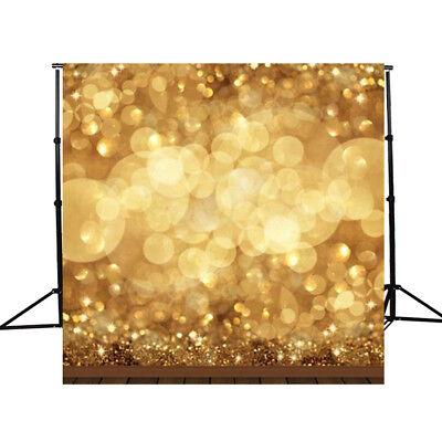 Image of 10x10ft Golden Spots Glitter Mousseux Photography Fond Backdrop Studio