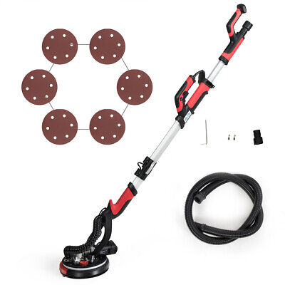 Electric Drywall Sander 750w Adjustable Variable Speed Wsanding Pad Led Light