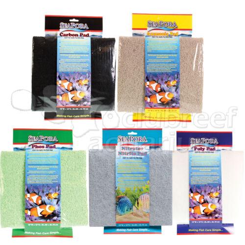 Carbon Ammonia Phosphate Nitrate or Polyfiber Filter Media Pad