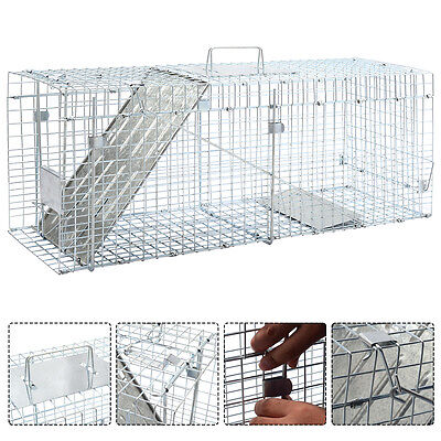 Live Animal Cage Mouse Trap Rat Hamster Catch Control Bait Hunting Survival New