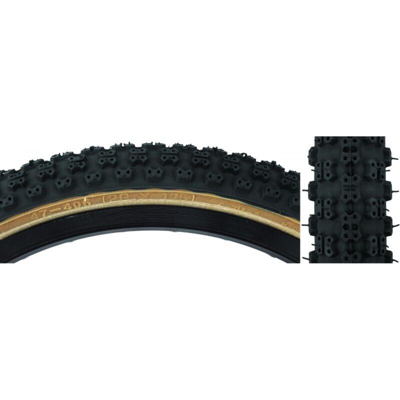 Sunlite Comp III BMX Tire 20x1.75 Black/Tan Wire 60psi (47-406 ISO)