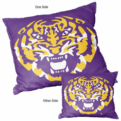State University Square (Louisiana State University Tigers Square Couch Pillow)