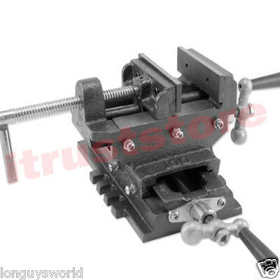 6 Cross Slide Vise For Drill Press Milling 3axis Sliding Mill Hd