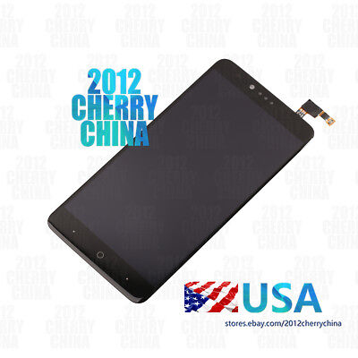 For ZTE ZMax Pro Z981 LCD Display Touch Screen Digitizer Displace Glass