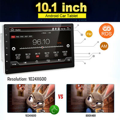 101 Car 2DIN Stereo GPS Navigation Multi function Radio Bluetooth MP3MP4MP5