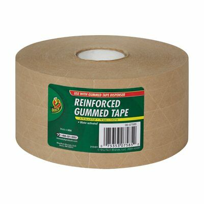 Reinforced Water Activated Gummed Kraft Paper Tape For Box