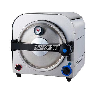 Dental 14l Autoclave Steam Sterilizer Vacuum Lab Equipment Medical Stainless110v