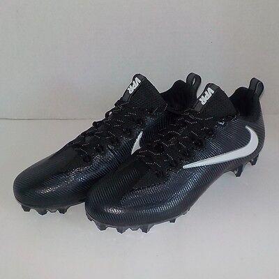 d4f2cf212a5 Nike VAPOR UNTOUCHABLE PRO Football Cleats BLACK WHITE 844816 010 SIZE 13.5