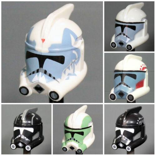 Custom ARC TROOPER HELMET for Clone Minifigures -Pick Color!- Star Wars