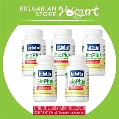 Lactoflor BioPlus-5 pcs*60 tablets Bulgarian probiotic and prebiotic best