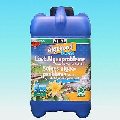 JBL AlgoPond Forte 2,5L - Teich Fadenalgen Teichalgen Algenmittel Alge Wasser