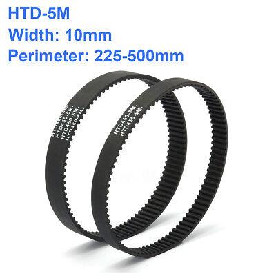 Htd 5m Close Timing Belt Rubber Drive Belt 10mm Width 225500mm Perimeter New