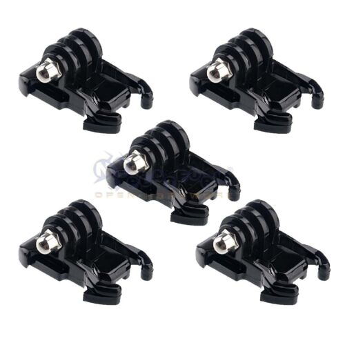 5x Black Buckle Basic Mount Adapter Clips for GoPro Hero 5 4s/4/3+3/2/1 Camera