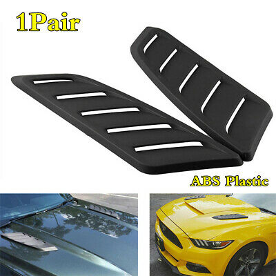 ABS Plastic Car Air Flow Intake Scoop Turbo Bonnet Vent Cover Hood Accessories