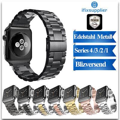 Serie 2 Ersatz (Für Apple Watch Armband Ersatz Band iWatch Uhrenarmband Edelstahl Series1/2/3/4)