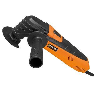Proteco® Multitool Multifunktionswerkzeug 260 Watt Oszillierwerkzeug Oszillierer