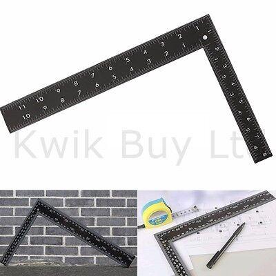 "8"" X 12"" Heavy Duty Metal Roofing Square Framing Carpenter Measure Metric"