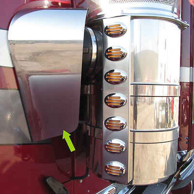 Kenworth W900 1982-2007 Air Cleaner Drip Grave-clothes Fairing Stainless Sword