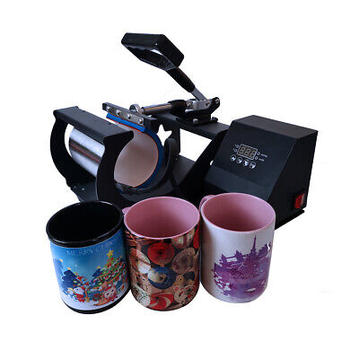 Mug Heat Press Sublimation Machine Digital For Diy Coffee Mug Cup Christmas Gift