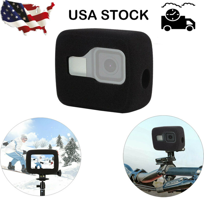 Windproof Sponge WindSlayer Wind Noise Reduction Foam For GoPro HERO 8 Black US