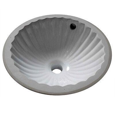 Ceramic Undermount Bathroom Ball-like Sink Design 11.5 inches Diameter Petite Small