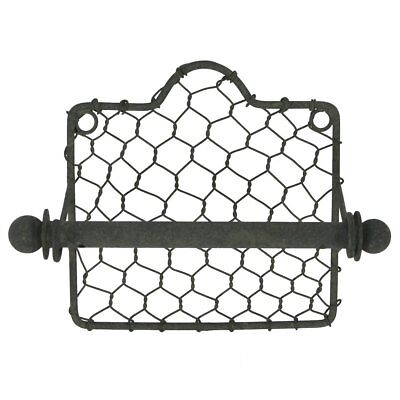 Wire Toilet Paper (Colonial Tin Works Chicken Wire Toilet Paper Holder )