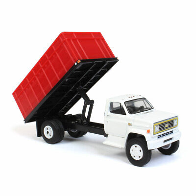 1:64 Greenlight Chevy C60 Grain Truck with White Cab 51310-C 1