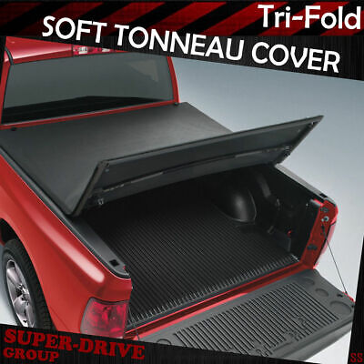 Premium Tri-Fold Tonneau Cover For 2009-2018 Dodge Ram 1500 5.7' FT Bed