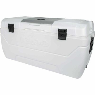 Igloo MaxCold Large 165 Quart 156 Litre 280 Can Cool Box Ice Cooler 7 Days *NEW*