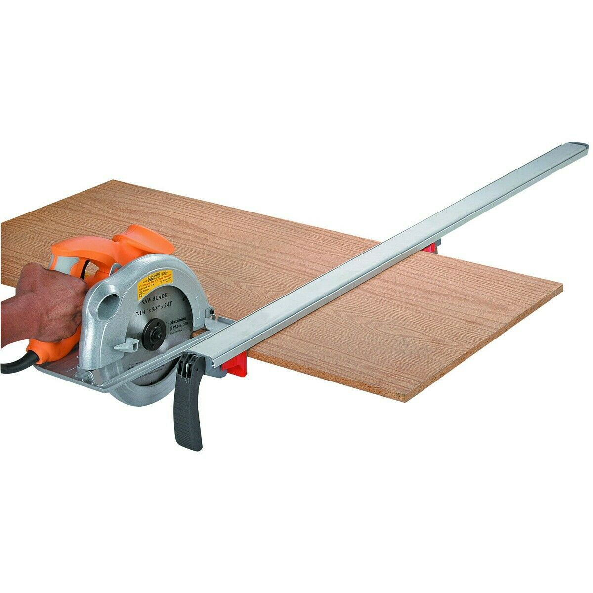 NEW PITTSBURGH® 24 In. Clamp Edge And Saw Guide   FREE SHIP