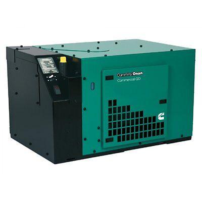 New Cummins Onan 5000 Watt Commercial Qd 5000 Diesel Generator 5 Hdkbc2860 120