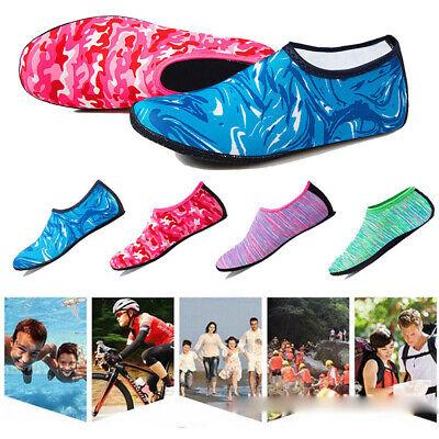 Women Men Water Shoes Aqua Socks Diving Sock Wetsuit Non-slip Swim Beach Sea Kid