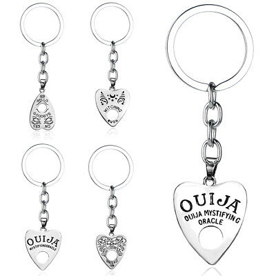 Hot Ouija Board Love Heart Keychain Women Men Best Friend Gift Keyring