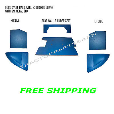 Ford New Holland Blue Cab Foam Kit 6700 7700 7710 8700 9700 Tw5 Tw10 Tw20 Tw30