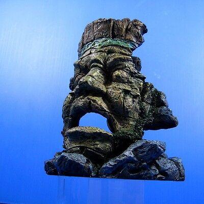 """Ancient Myth Jungle Statue Ruins Cave 7.1""""x5.7""""x8"""" Aquari..."""