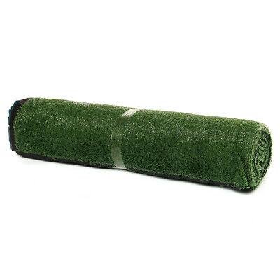 15mm 2m x 5m Artificial Grass Mat - Greengrocers Fake Grass Garden Turf CHEAP