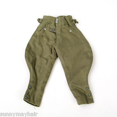 16 WWII German Soldier German breeches 12quot figure bodypants clothing