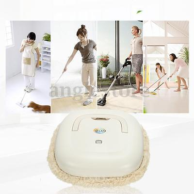 Washable Microfiber Mop Robot Vacuum Cleaner Household Smart Wet Dry Cleaning US
