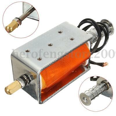 Dc 12V 35mm Pequeño Electromagnético Eléctrico Imán Long-Stroke Empujar Tirar
