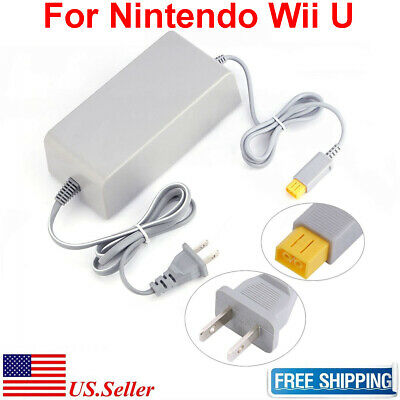 AC Adapter Power Supply Wall Charger Cord Cable Nintendo Wii U Console WUP-002 Ac Adapter Power Cord Cable