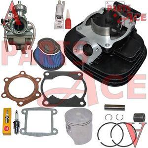 Yamaha Blaster 200 YFS200 Cylinder Carburetor Air Filter Cleaner Top End Kit Set